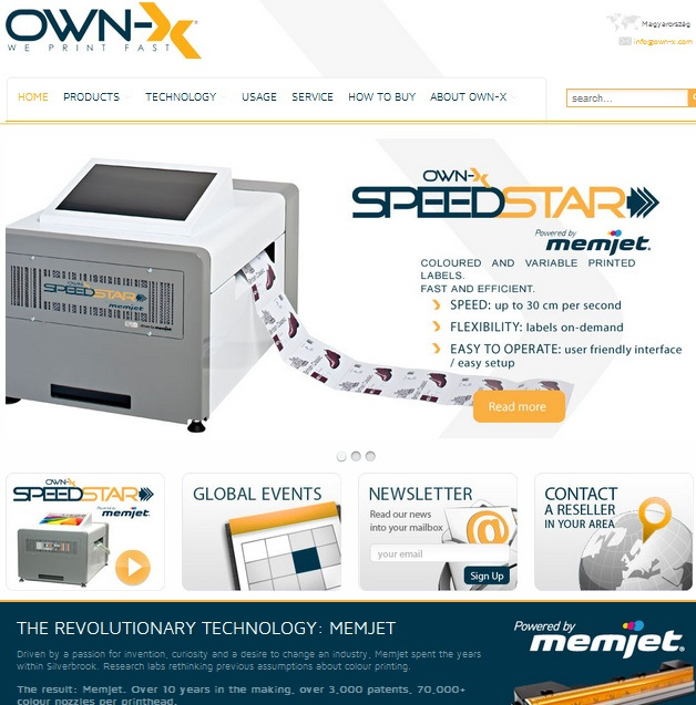 OWN-X homepage