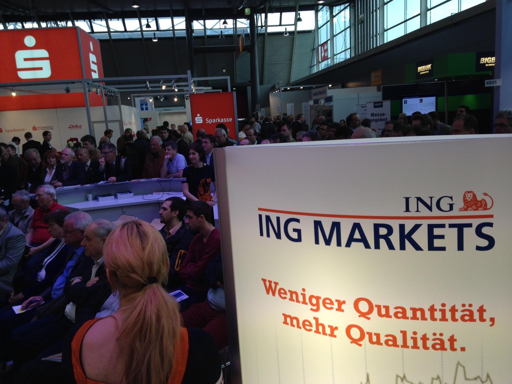 ING Markets Besucher