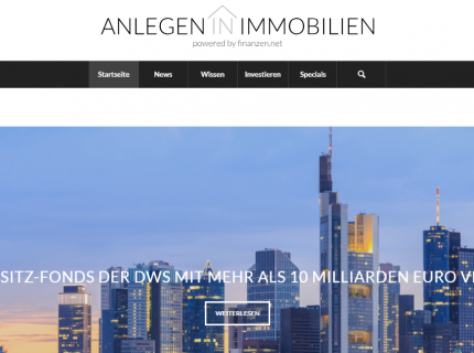Anlegen in Immobilien